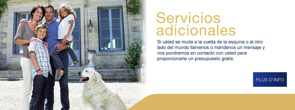 servicios adcionales