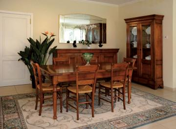 Dining room before packing