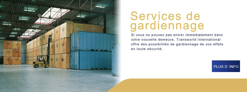 services de gardiennage